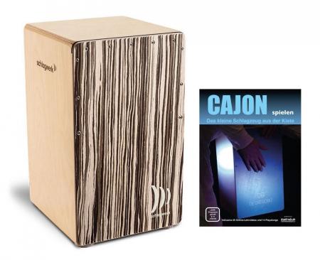 Schlagwerk CP409 ST Cajon 2inOne Barista Soft Touch SET inkl. Cajonschule
