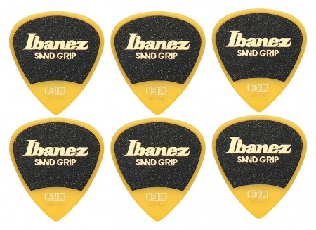 Ibanez PA16MSG-YE Grip Wizard Sand Medium - 6er Pack