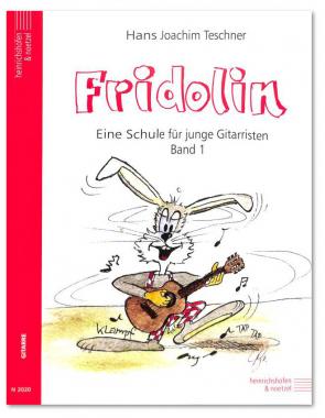 Fridolin 1 - Eine Schule für junge Gitarristen