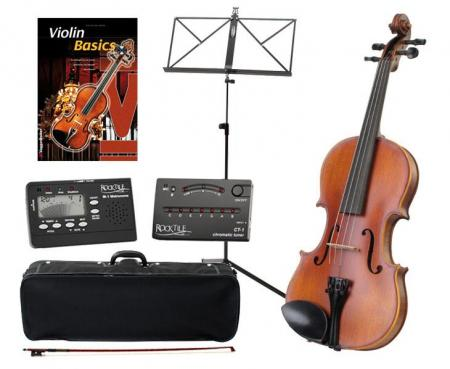 Classic Cantabile Comfort Violon 3/4 SET inc. accessoires et notes