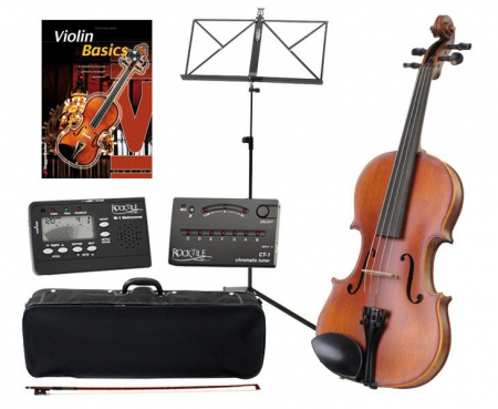 Comfort Classic Cantabile Student Violin 3/4 SET with accessories + scores