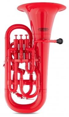 Classic Cantabile MardiBrass euphonium Sib en plastique rouge
