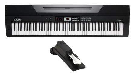 Classic Cantabile SP-150 BK Stagepiano nero SET con pedale incluso