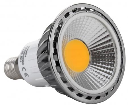 Showlite LED Spot E14W05K30D 5 vatios, 330 Lumen, casquillo E14, 3000 Kelvin