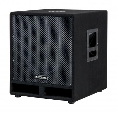 """McGrey PAS-115 15"""" passiver PA Subwoofer Bass Lautsprecher Box 1200 Watt  - Retoure (Zustand: gut)"""