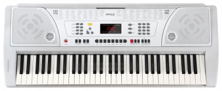 FunKey 61 Keyboard inkl. Netzteil und Notenhalter Weiß  - Retoure (Zustand: sehr gut)