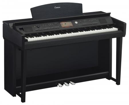 Yamaha CVP-705 B Clavinova Digitalpiano Schwarz Matt