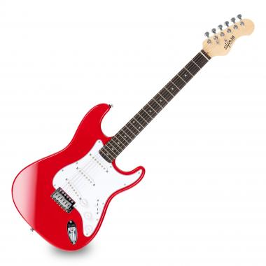 Shaman Element Series STX-100R Electric Guitar - Red