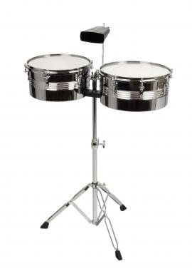 "XDrum Timbales SET 13"" 14"" inkl. Cowbell  - Retoure (Zustand: sehr gut)"