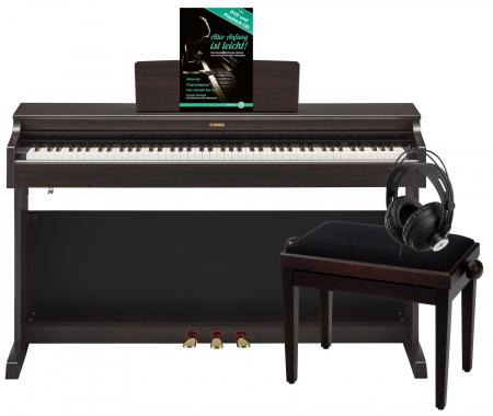 Yamaha YDP-163 R Arius E-Piano Rosenholz Deluxe Set