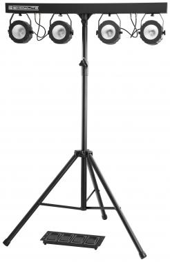 Showlite LB-430 COB Komplettanlage 4x30W RGB LED  - Retoure (Zustand: sehr gut)