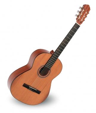 Calida Cadete Konzertgitarre 4/4 Zeder Hochglanz - Made in Portugal