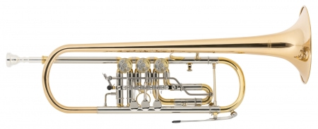 Classic Cantabile TR-43G Bb Trumpet, Gold-Plated Brass