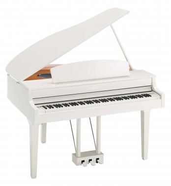 Yamaha CLP-695GP WH Digitalpiano Weiß Hochglanz