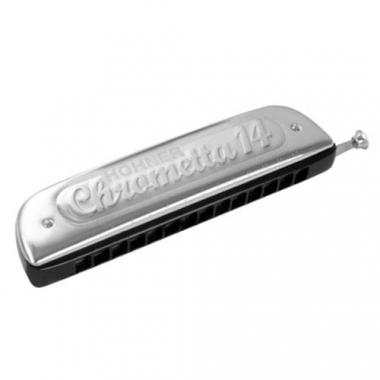 Hohner Chrometta 14  C Mundharmonika