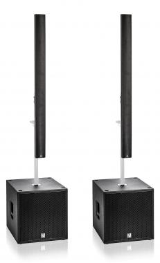 Harmonic Design PL12/P18-PA1 Multi DSP Aktivsystem 3700 Watt