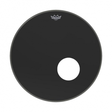 "Remo 20"" Powerstroke P3 Ebony Bass Drum Reso  - Retoure (Zustand: sehr gut)"