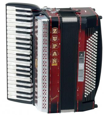 Zupan Juwel IV 120 MHR Accordion Shadow Red