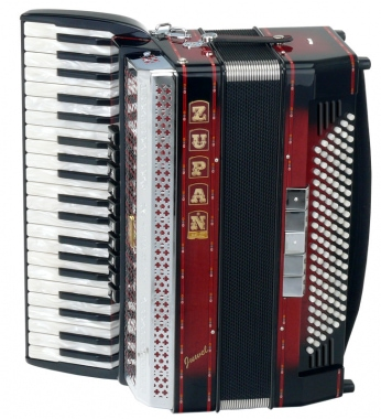 Zupan Alpe Juwel IV 120 MHR Accordion (shadow red)