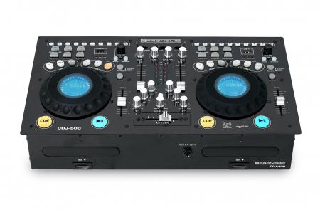 Pronomic CDJ-500 Full-Station Doppel DJ CD-Player  - Aussteller (Zustand: sehr gut)