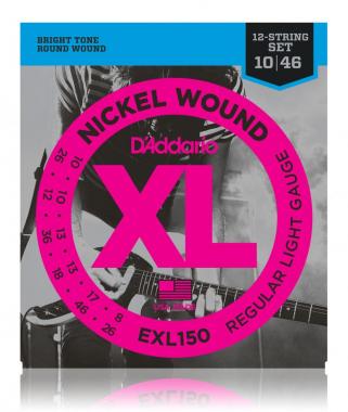 D'Addario EXL150 Regular Light 12-string