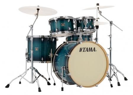 Tama CL50R-BAB Superstar Classic Shellset Blue Lacquer Burst