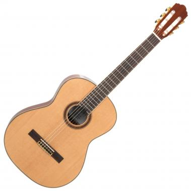 Rocktile CG-70 4/4 Natural Concert Guitar (Classical/Acoustic Guitar) with Cedar Top / Mahogany Back, Ribs and Neck