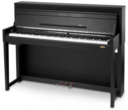 Classic Cantabile UP-1 SM Upright E-Piano Schwarz matt  - Retoure (Zustand: gut)