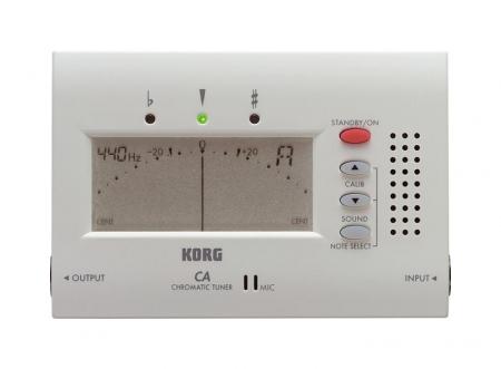 Korg CA-40 Chromatic Tuner, accordatore nuovo