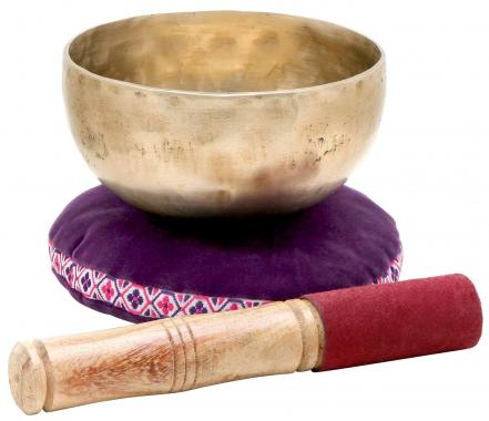 XDrum Tibetan Singing Bowl 13 cm incl. Pillow