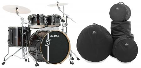 Tama ML42HLZBN-DMF Superstar Maple Drumkit Dark Mocha Fade Set inkl. Gigbags