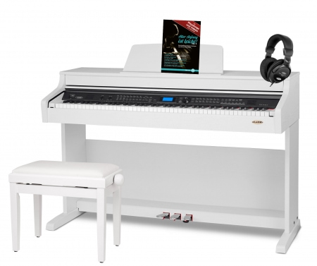 Classic Cantabile DP-A WM RH digital piano SET white matte