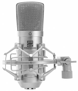 Pronomic CM-100S microphone de studio à grande membrane incl. suspension