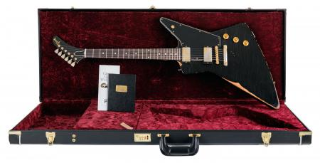 Gibson Heavy Aged 1958 Explorer Ol' Witch Ebony