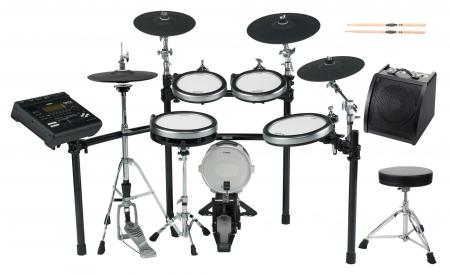 Yamaha DTX920K E-Drum Kit SET 2 mit Hocker, Sticks und Drummonitor