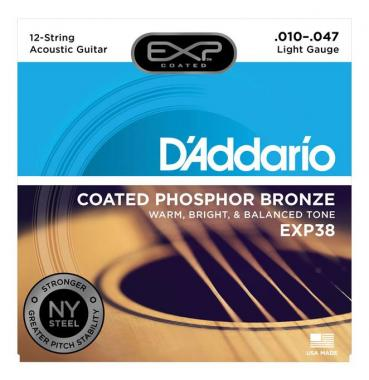 D'Addario EXP38 Light 12-string