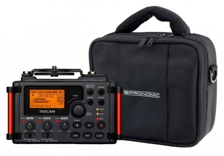 Tascam DR-60D MKII Digitalrecorder für Kameras im Set inkl. Recordertasche