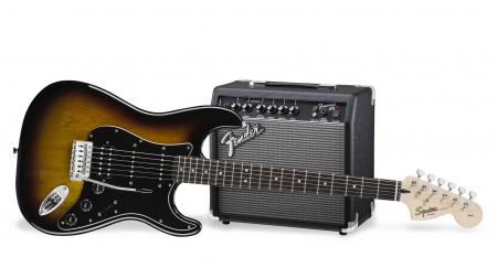 Fender Squier Affinity Strat HSS Pack BSB