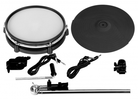 XDrum DD-530 Mesh Add On Kit incl. asta di sostegno