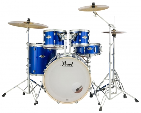 Pearl Export EXX725SBR/C717 Drumkit High Voltage Blue