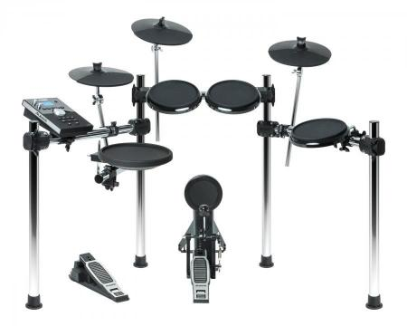 Alesis Forge Kit E-Drum + Hi-Hat, Bass Drum Pedal, Drumsticks  - Retoure (Zustand: sehr gut)