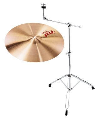 "Paiste 18"" PST 7 Crash+ Galgenständer SET"