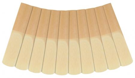 Classic Cantabile TSB-25 Ance per Sassofono tenore, confezione da 10, spessore 2,5
