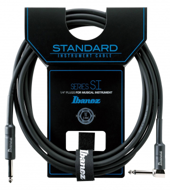 Ibanez SI10L Angled Guitar Cable 3,05m - Black