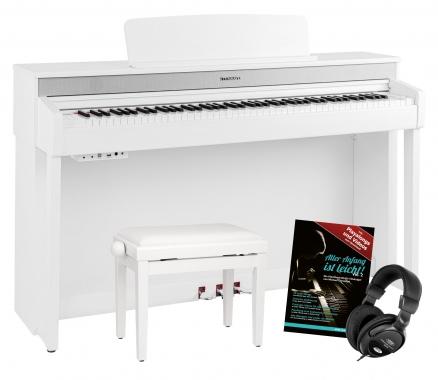 Steinmayer DP-361 WM piano numérique blanc mat set