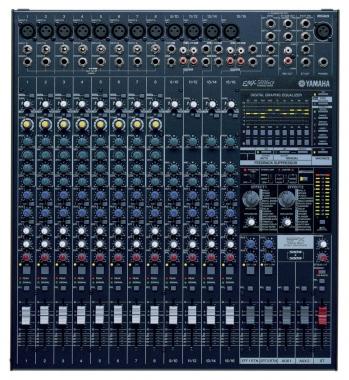Yamaha EMX 5016 CF powermixer, 16-kanaals