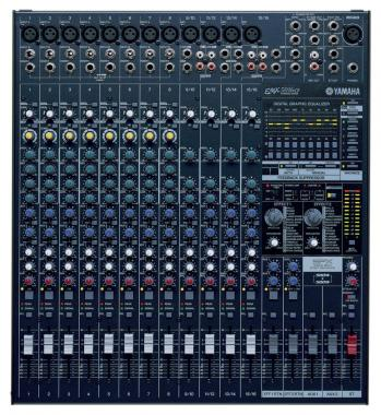 Yamaha EMX 5016 CF Powermischer, 16-Kanal