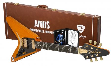 """Epiphone Ltd. Ed. Joe Bonamassa 1958 """"Amos"""" Flying-V"""