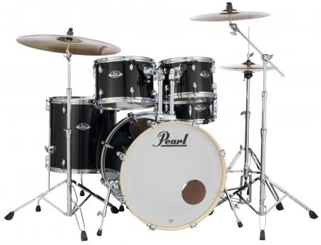 Pearl Export EXX725BR/C31 Drumkit Jet Black