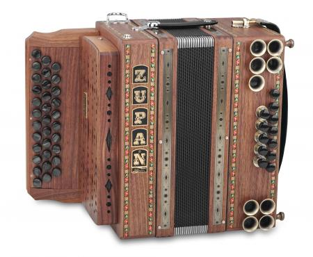 Zupan Eco 3/II Harmonika B-Es-As Nuss